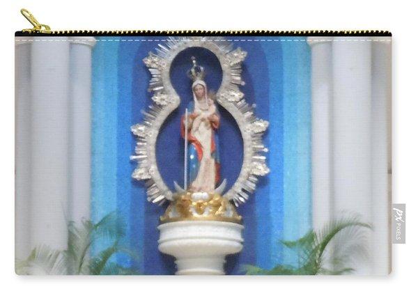 Virgin Mary Shrine Carry-all Pouch