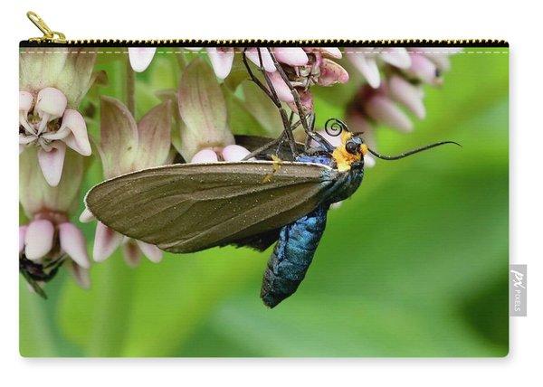 Virginia Ctenucha Moth Carry-all Pouch