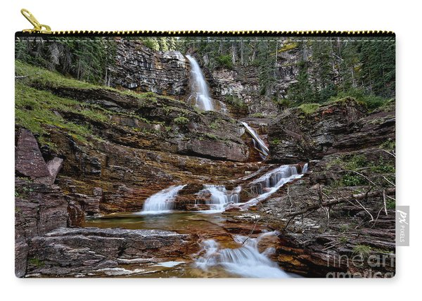 Virginia Falls Cascades Landscape Carry-all Pouch