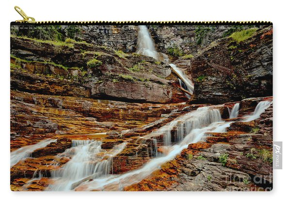 Virginia Falls Landscape Carry-all Pouch