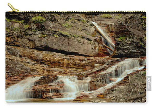 Virginia Falls Portrait Carry-all Pouch