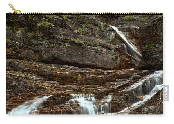 Virginia Falls Red Rocks Carry-all Pouch