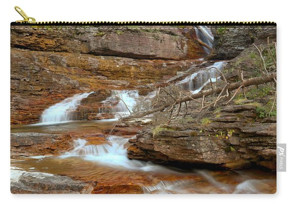 Virginia Red Rock Falls Carry-all Pouch