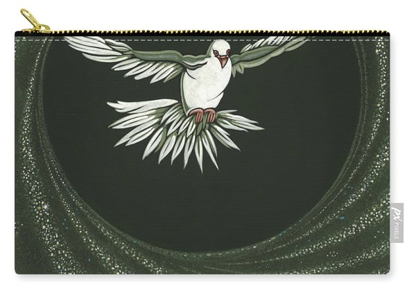 Viriditas-holy Spirit Detail Carry-all Pouch