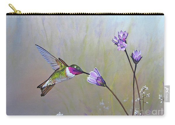 Visiting The Purple Garden Carry-all Pouch