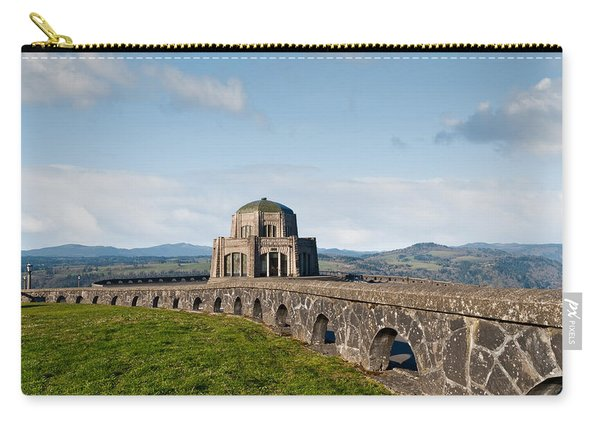 Vista House At Crown Point Carry-all Pouch