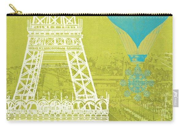 Viva La Paris Carry-all Pouch
