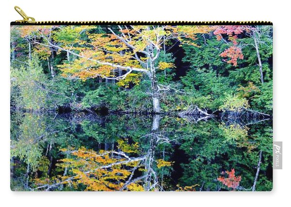Vivid Fall Reflection Carry-all Pouch