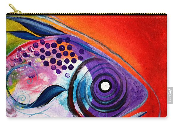 Vivid Fish Carry-all Pouch