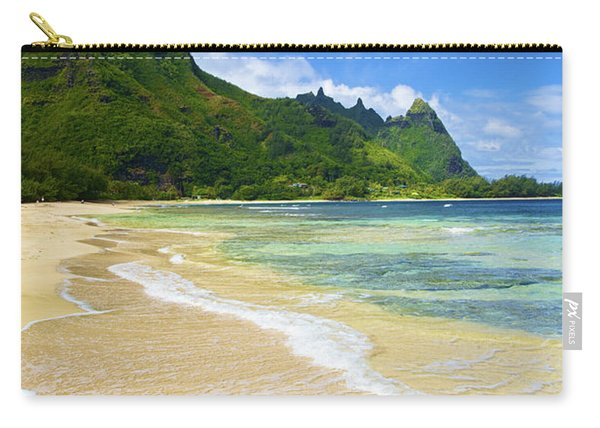 Vivid Tunnels Beach Carry-all Pouch