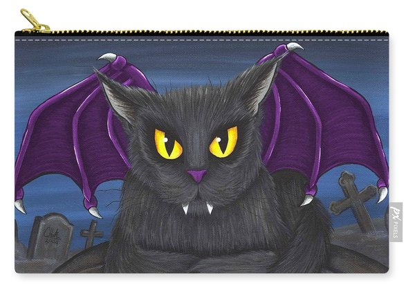 Vlad Vampire Cat Carry-all Pouch