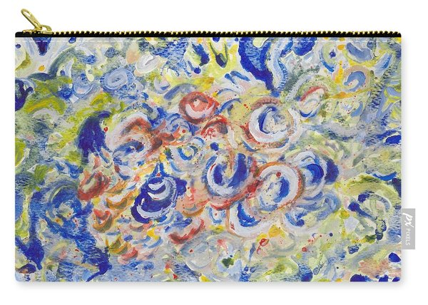 Volcanic Sea Acrylic/water Carry-all Pouch