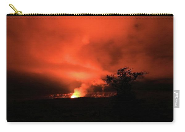 Volcano Under The Mist Carry-all Pouch