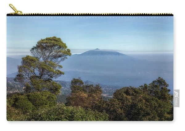 volcanoes in the fog - Java Carry-all Pouch