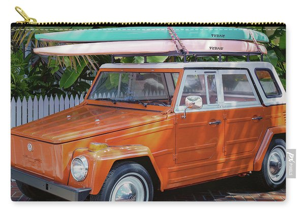 Volkswagen And Surfboards Carry-all Pouch