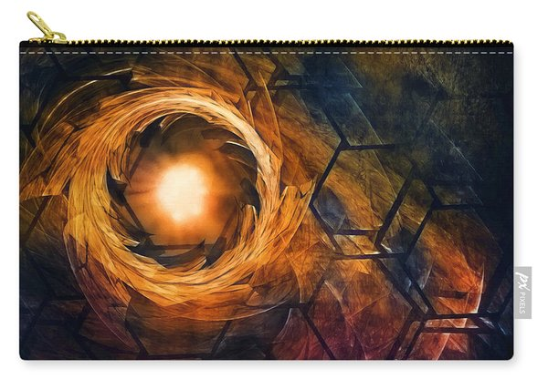 Vortex Of Fire Carry-all Pouch