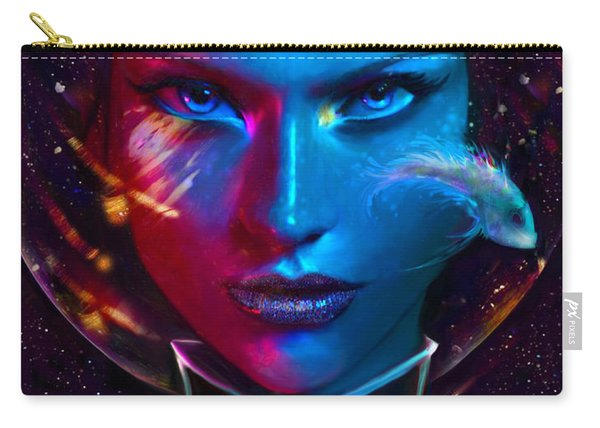 Voyager Beyond The Clouds Carry-all Pouch