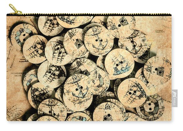 Voyages Of Old World Carry-all Pouch