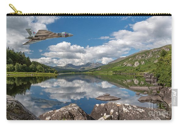Vulcan Over Lake Carry-all Pouch
