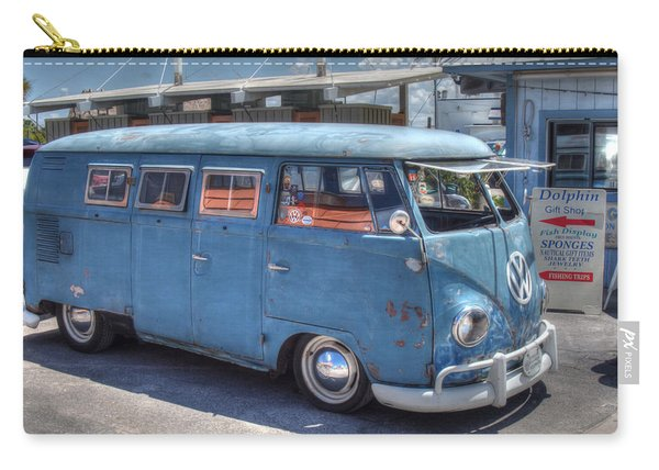 Carry-all Pouch featuring the photograph Vw Beach Buggy by Michael Colgate