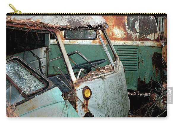 Vw's In The Woods Carry-all Pouch