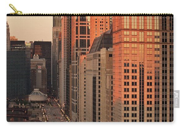 Wacker Drive Sunset Chicago Carry-all Pouch