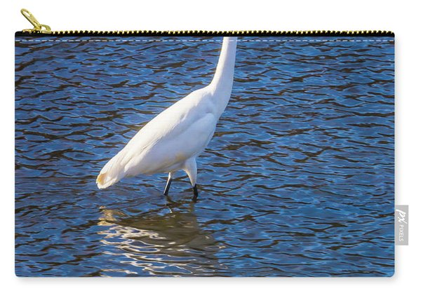 Wading In The Bay Carry-all Pouch