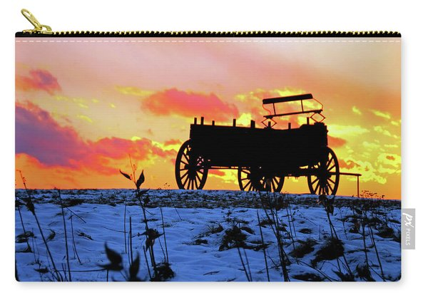 Wagon Hill At Sunset Carry-all Pouch