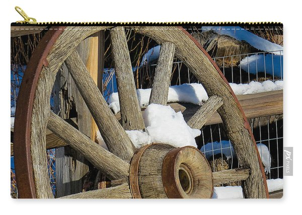 Wagon Wheel 1 Carry-all Pouch