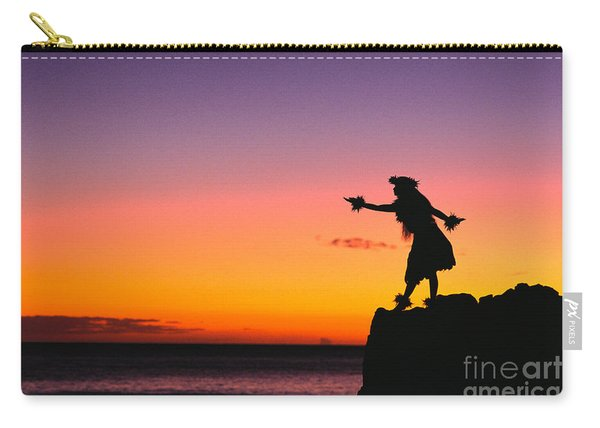 Wahine Hula Dancer Carry-all Pouch