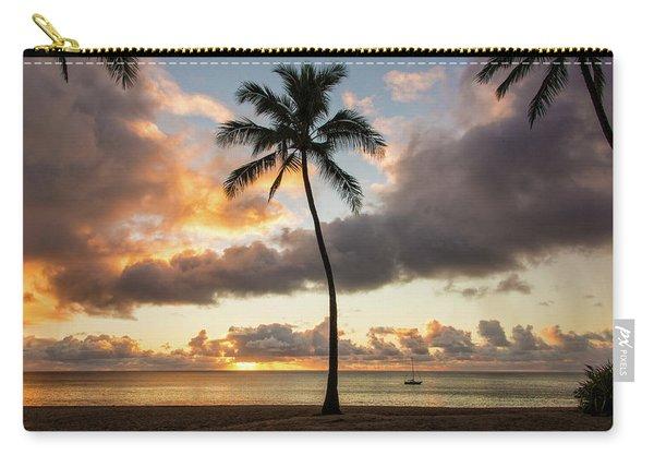 Waimea Beach Sunset - Oahu Hawaii Carry-all Pouch