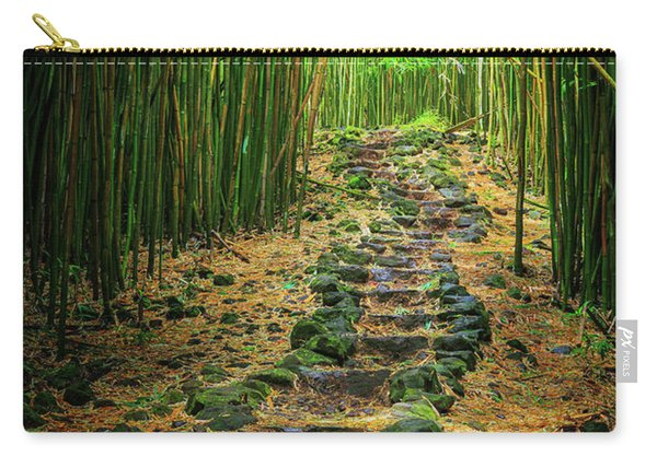 Waimoku Bamboo Forest #2 Carry-all Pouch