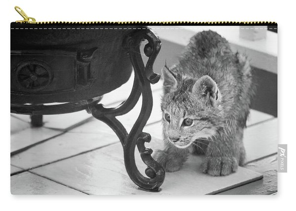 Carry-all Pouch featuring the photograph Wait For It by Tim Newton