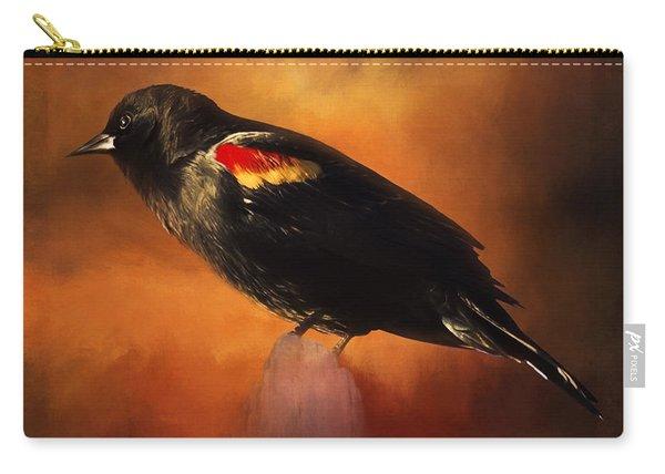 Waiting - Bird Art Carry-all Pouch