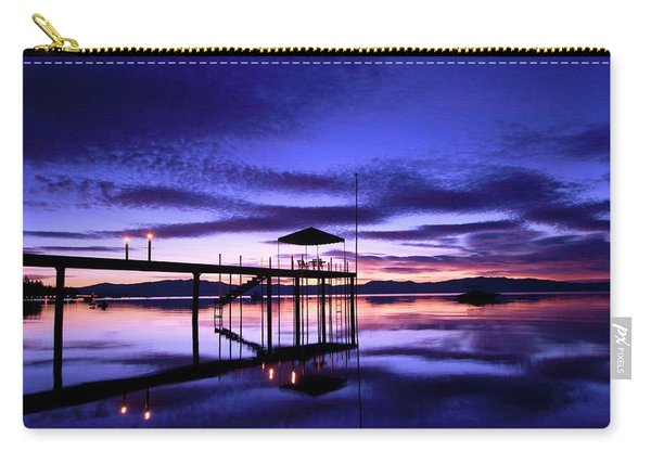 Carry-all Pouch featuring the photograph Wake Up To The Dawn by Sean Sarsfield