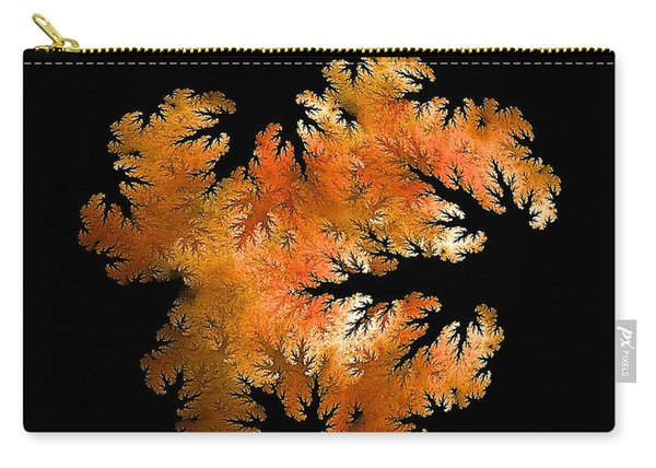 Waking In Mandelbrot Forest-2 Carry-all Pouch