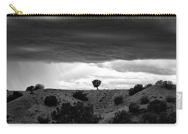 Carry-all Pouch featuring the photograph Waldo Canyon New Mexico by Mary Lee Dereske