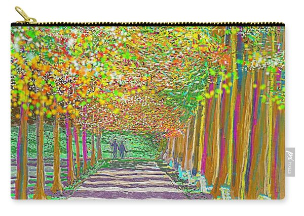 Walk In Park Cathedral Carry-all Pouch