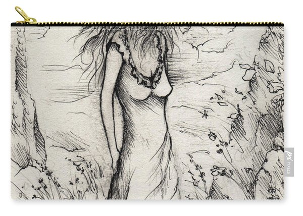 Walk In The Whispers Carry-all Pouch
