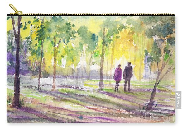 Walk Through The Woods Carry-all Pouch