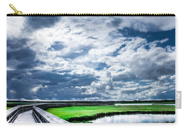 Walk With Me In The Sky Carry-all Pouch