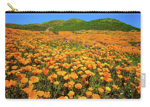 Walker Canyon Wildflowers Carry-all Pouch