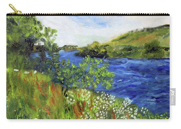 Walking Along The Moselle Carry-all Pouch