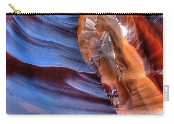 Walking In Antelope Canyon Carry-all Pouch