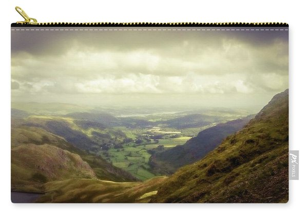 Walking In The Mountains, Lake District, Carry-all Pouch