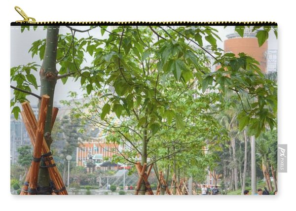 Walking Macau China Carry-all Pouch