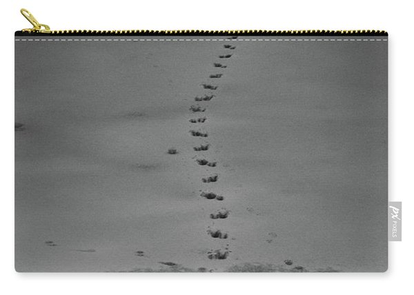 Carry-all Pouch featuring the photograph Walking On Thin Ice by Jason Coward