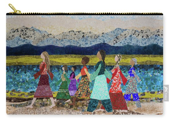 Walking Strong #1 Carry-all Pouch