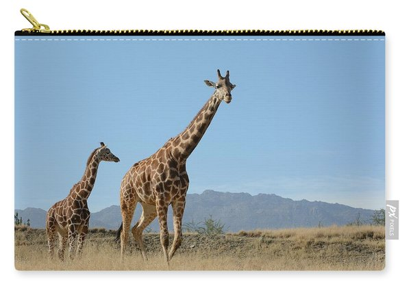 Walking With Mom Carry-all Pouch
