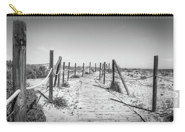 Walkway In The Dunes. Carry-all Pouch
